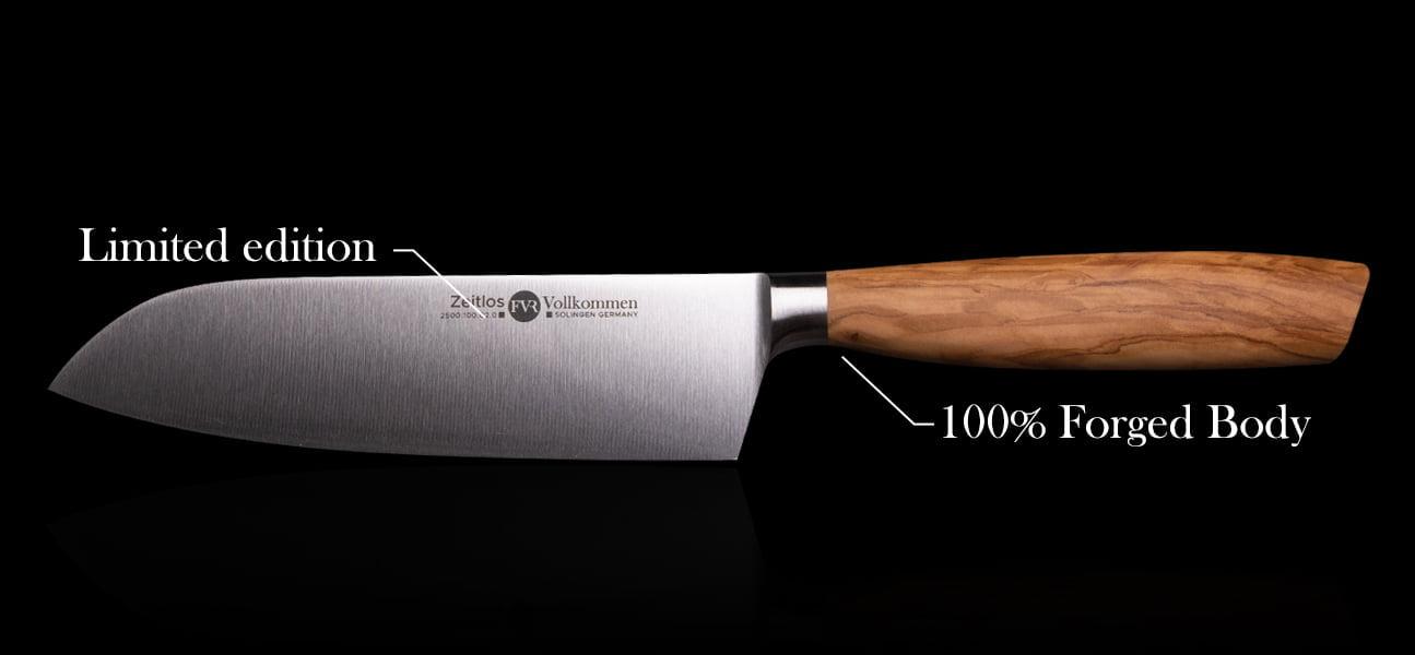 FVR Santoku Knife Forged