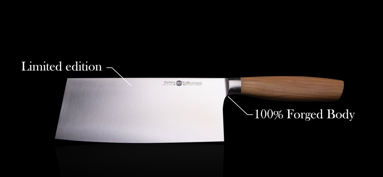 Chinese Chef's Knife Forged