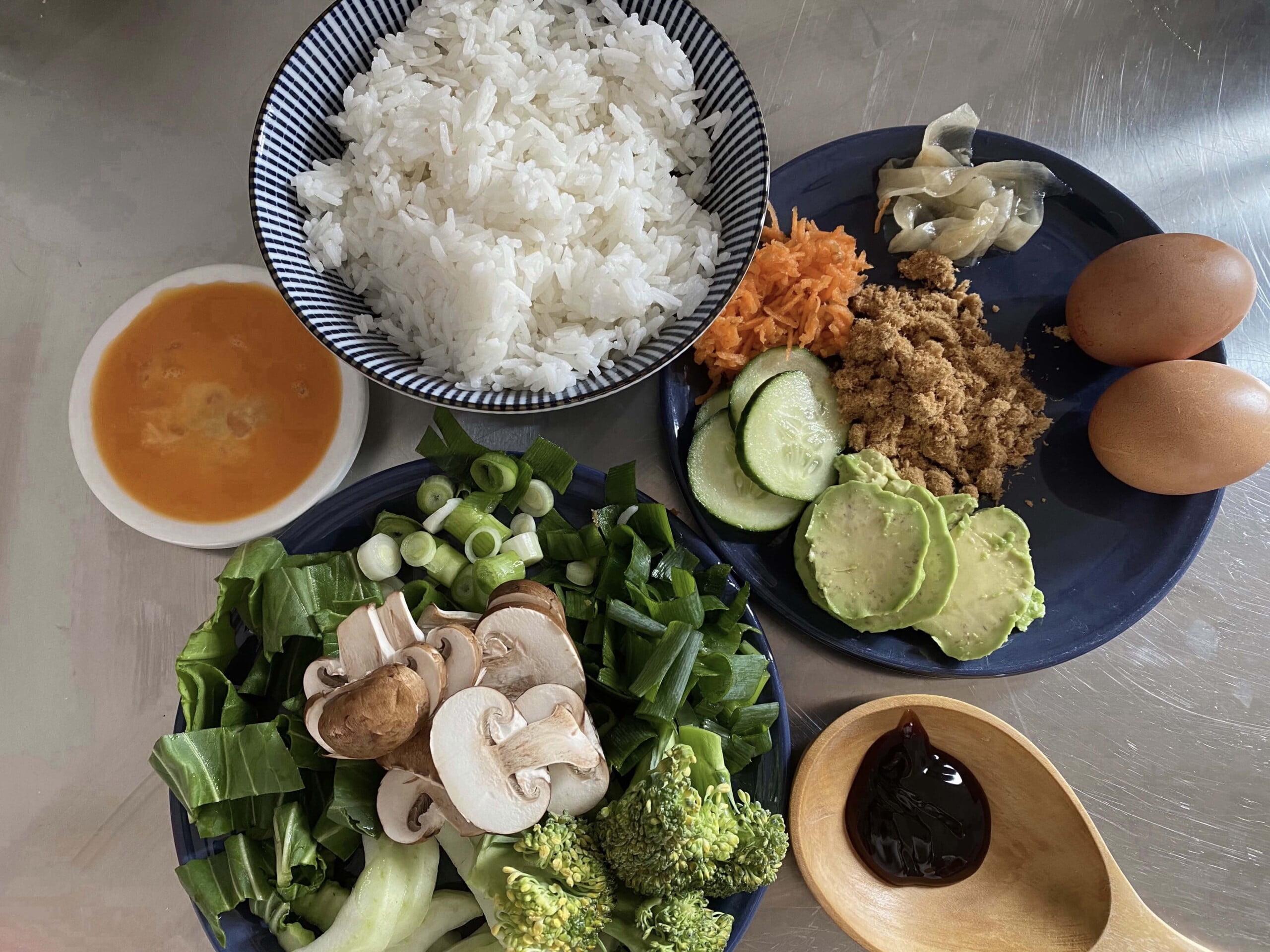 Chinese Inspired Breakfast Bowl