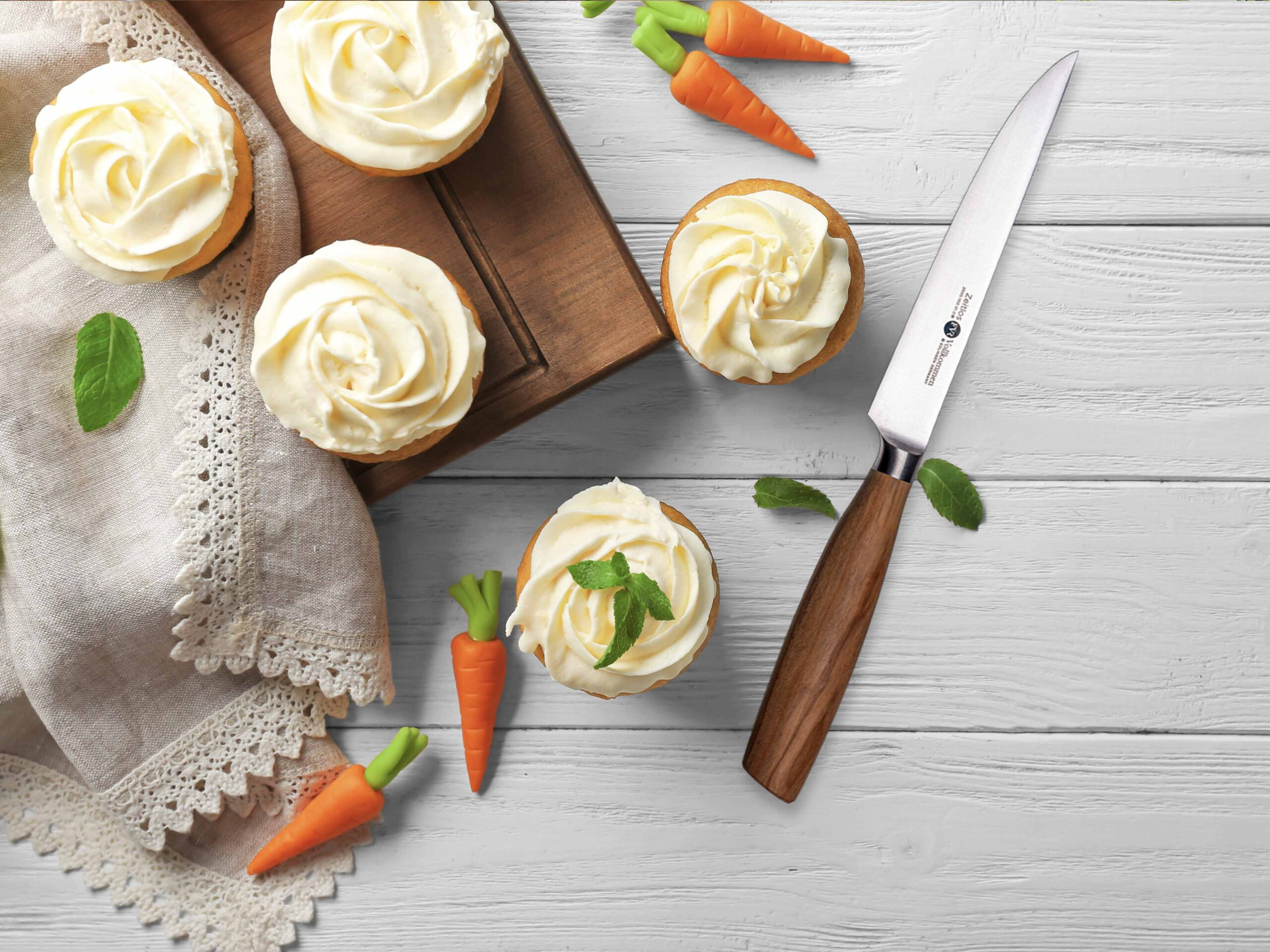 FVR Carrot Cupcakes